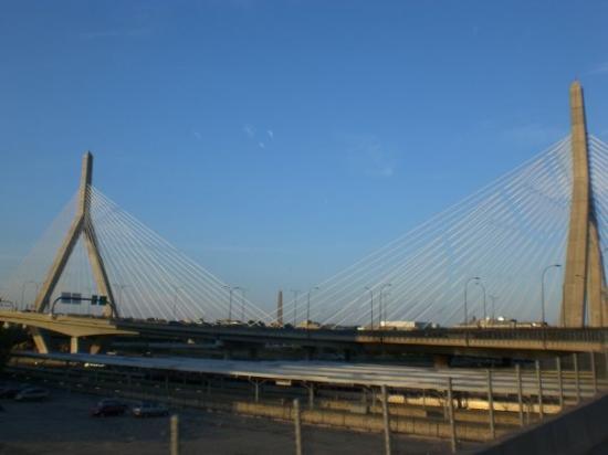 Leonard P. Zakim Bunker Hill Bridge : Boston, MA