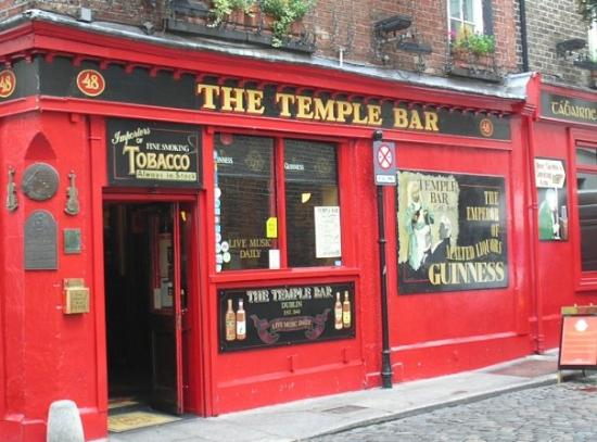 The Temple Bar: Yes, the one and only Temple Bar