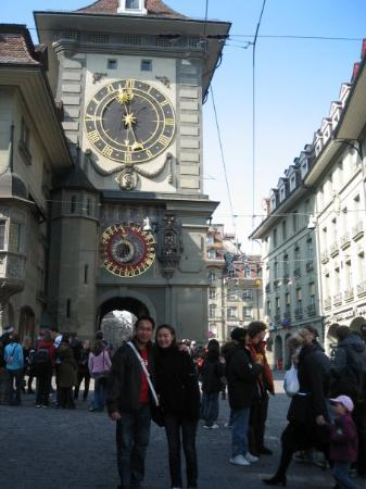 Clock Tower - Zytglogge: Zytglogge, an elaborate medieval clock tower with moving puppets.