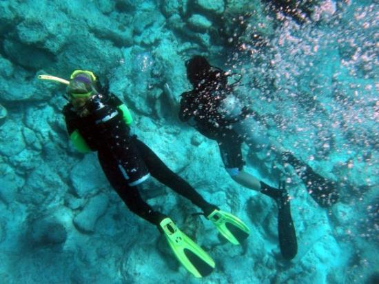 Fowl Cays National Park: Tiny Bubbles