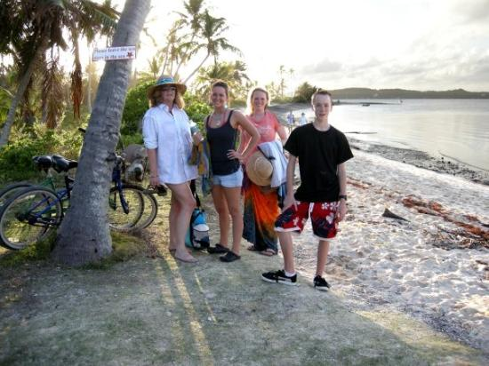 ME and the kiddos on Tahiti Beach, Bahamas
