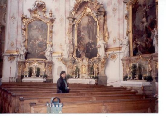 Лихтенштейн, Германия: in a church somewhere between Austria and Germany