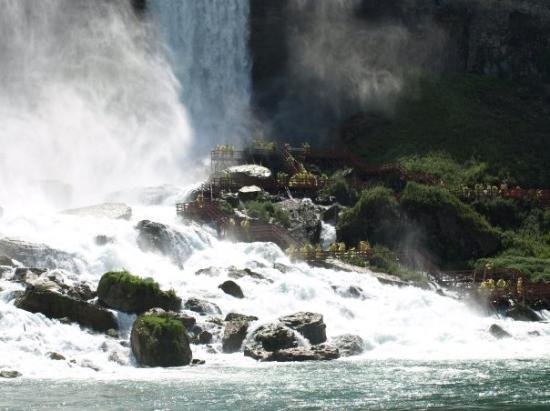 Journey Behind the Falls: Niagara Falls
