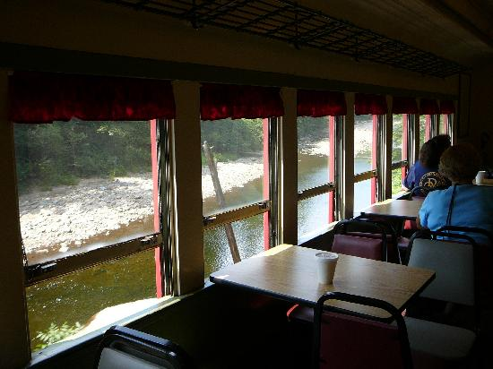 Durbin Greenbrier Valley Railroad: the tables