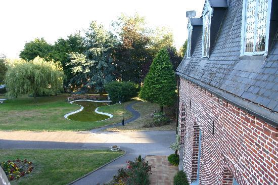 Hostellerie Saint Louis : View from our room