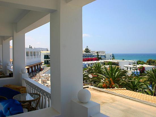 Mitsis Rinela Beach Resort & Spa: Dal balcone della camera