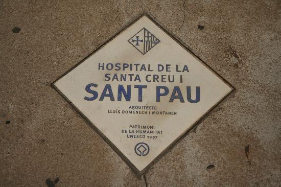 Recinte Modernista de Sant Pau: unesco site