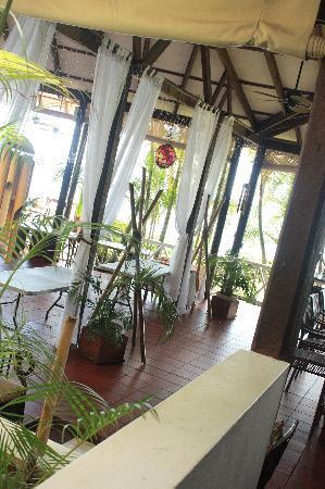 Anse Cochon, St. Lucia: The main restaurant