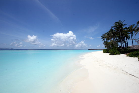 The Sun Siyam Iru Fushi Maldives: White sand