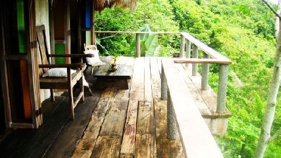 Boracay Private Mt. Casitas Villa: front balcony 2