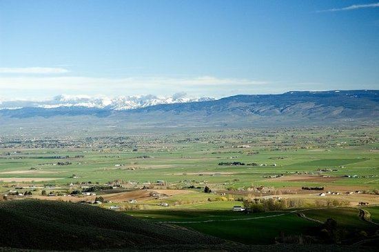 เอลเลนสบูร์ก, วอชิงตัน: Kittitas Valley, just above Ellensburg, WA, on the road toward Yakima.