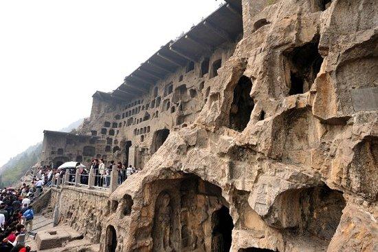 Luoyang, Kina: 好多石窟,果然是 AAAAA 級