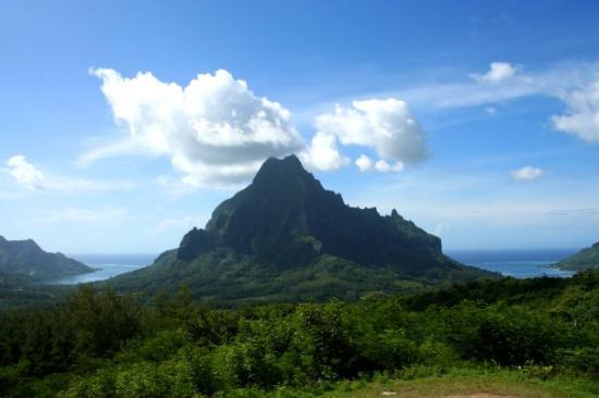 Moorea, French Polynesia: Belvedere Outlook