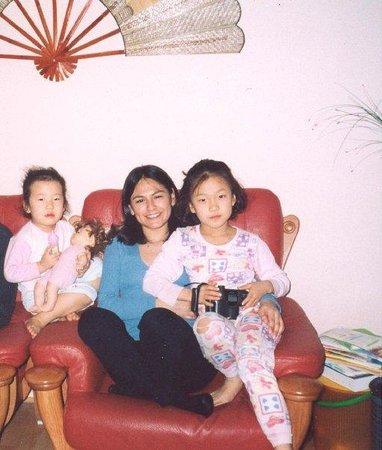 Gwangju, South Korea: mis chiquitas coreanas, las pequeñas de la familia coreana con la que vivi por 2 semanas =)