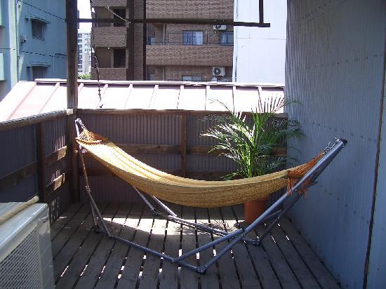 Hostel Ann: 屋上にはハンモックも…