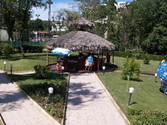 Kristal Hotel: Bar piscine
