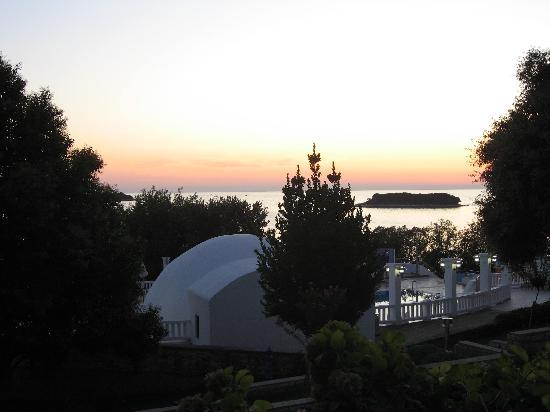 All-inclusive Resort Funtana: coucher de soleil