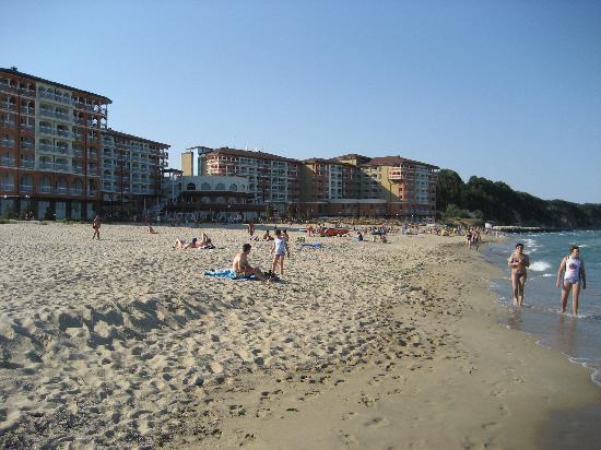 Sol Luna Bay : Fotos vom Strand auf das Hotel