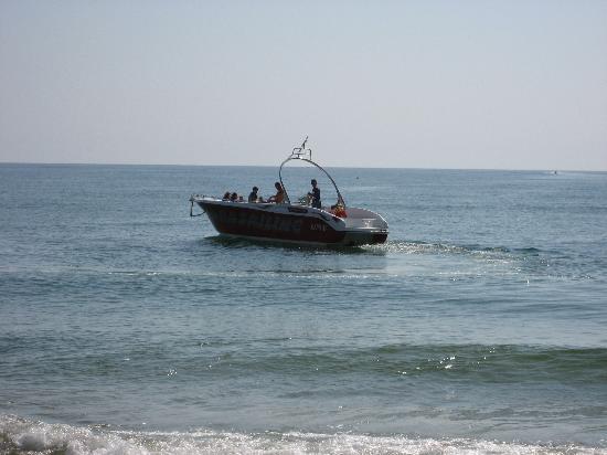 Sol Luna Bay : Parasailingboot