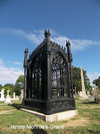 Hollywood Cemetery: James Monroe Grave Site