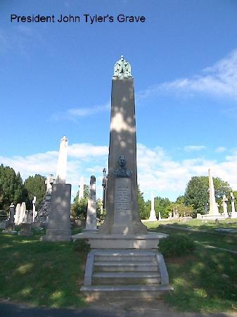 Hollywood Cemetery: President Tyler's Grave Site