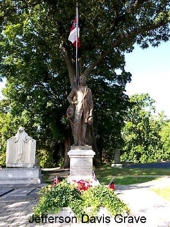 Hollywood Cemetery: Jefferson Davis' Grave Site