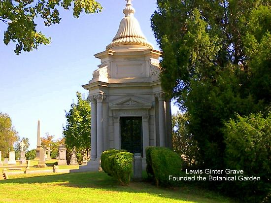 Hollywood Cemetery : Lewis Gitner's Grave Site