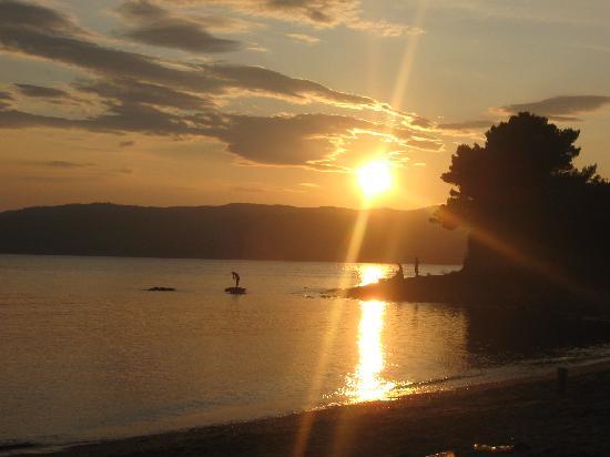 Skiathos, Grecia: tramonti