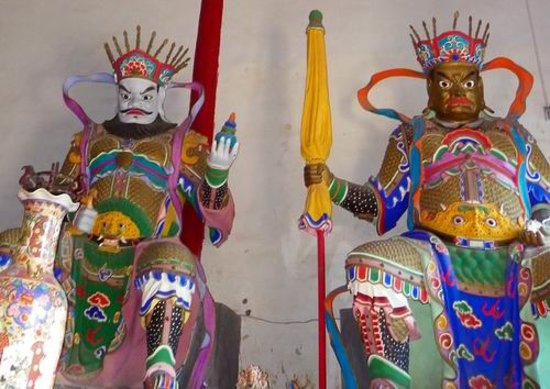 Xixia County, Kina: Inside the Temple