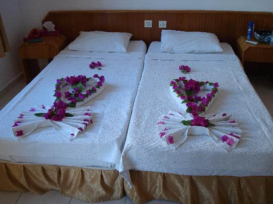 hotel eda lovely bed decorations by beran