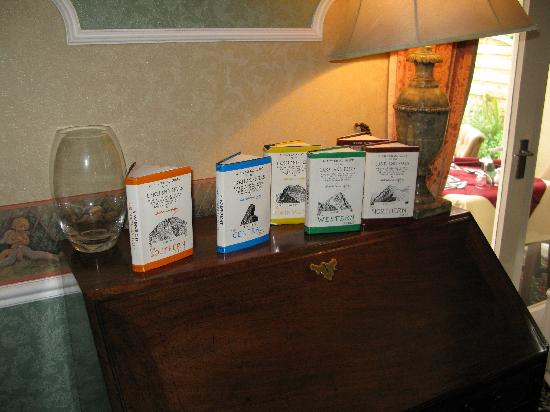 Middle Ruddings Country Inn: a selection of local guide books