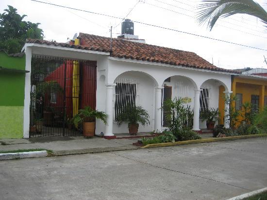 Casa De La Luz: View from the street