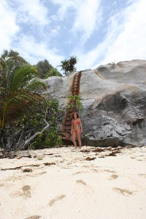 Beachcomber Seychelles Sainte Anne: One of the other beaches on the island