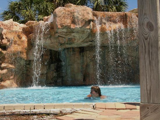 Purple Parrot Village Resort: the pool waterfall was cool