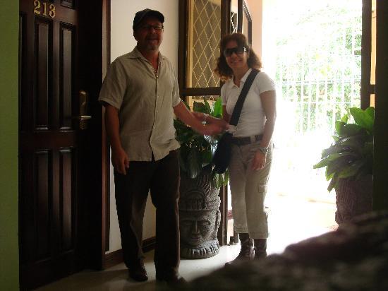 Hotel La Amistad: Dentro del hotel