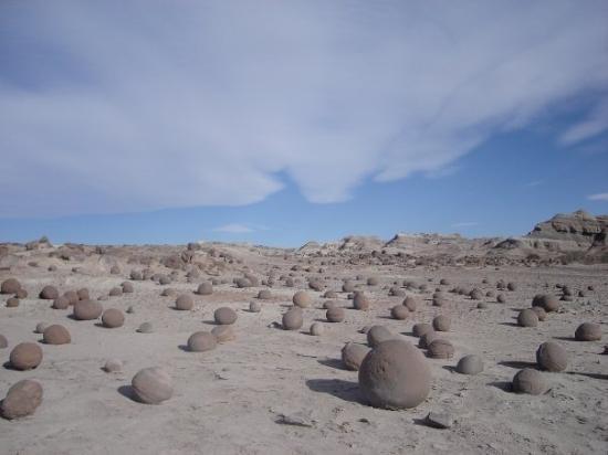 San Agustin del Valle Fertil, อาร์เจนตินา: Cancha de bochas, Ischigualasto, San Juan