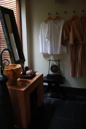 Hua Hin, Thaïlande : anantara sap - in side: changing room