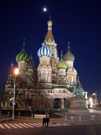 St Basils Katedral: St Basil's church in front of the Kremlin