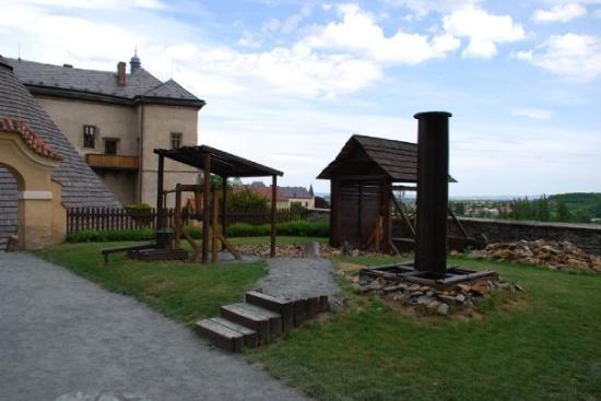České muzeum stříbra: Hornická osada