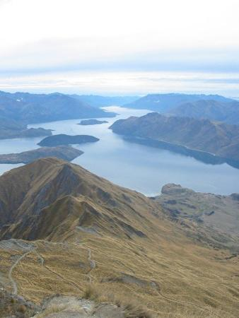 View from Mt Roy, Wanaka (NZ)