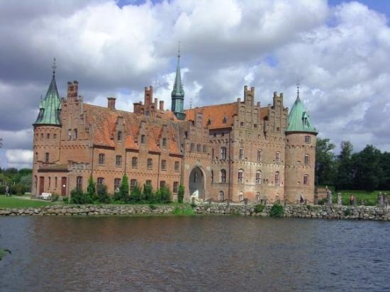 Egeskov Castle: Schloss Egeskov.
