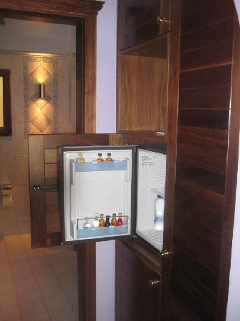 Regina Dell Acqua Resort: Standard Room: Mini bar