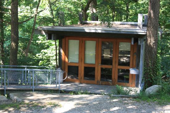 Manitoga / The Russel Wright Design Center: The visitor's center