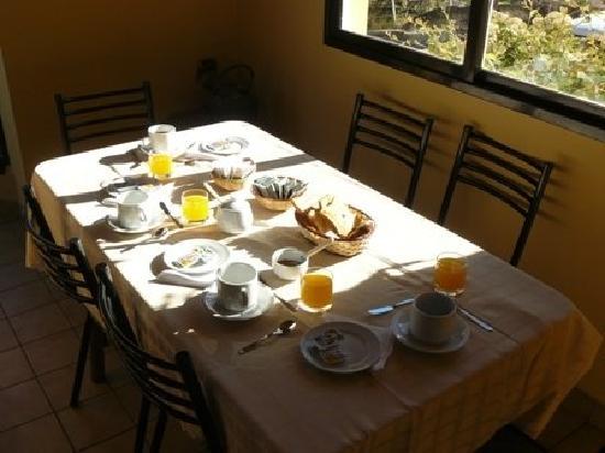 Aonikenk Bed & Breakfast: Súper desayuno