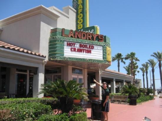 Galveston Tx Landry S Seafood Restaurant