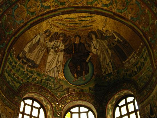 Basilica San Vitale : サン・ヴィターレ教会のモザイク