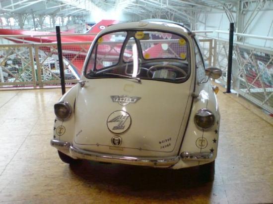 Technik-Museum Speyer: Speyer Technikmuseum Trojan one man car