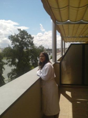 Ribera de Triana Hotel : Vue imprenable sur le Guadalquivir