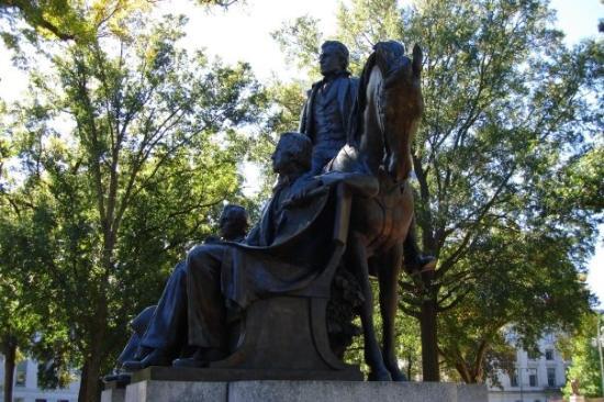 ราลี, นอร์ทแคโรไลนา: Presidents of the United States coming from North Carolina: James Knox Polk (1845-1849), Andrew