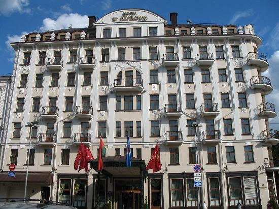 Hotel Europe: View of the hotel from the street